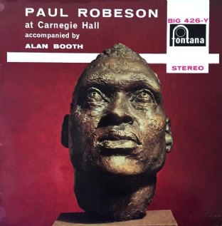 Paul Robeson ‎- Paul Robeson At Carnegie Hall (LP) (EX/VG++)